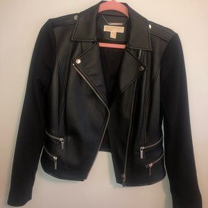 Michael Kors leather jacket woman's